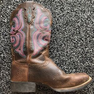 JUSTIN stampede boots | Detailed Boots